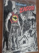 DIARIO di ZAGOR in Blister Inedito   ( no Zenith - Striscia o Raccoltina n 1 )
