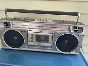 VINTAGE original JVC RC-575JW Cassette Shortwave Radio Boombox Working