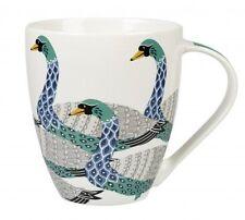 Queens PARADISE BIRDS Crush MUG - SWANS Fine China Mug 500ml Churchill
