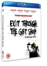 Exit Through the Gift Shop, BRAND NEW, FACTORY SEALED (Blu-Ray) A Banksy film.