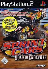 PS2 Game - Sprint Cars Road to Knoxville !!!
