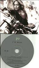 JENNIFER LOPEZ I'm Real w/MURDER REMIX EUROPE Made PROMO DJ CD Single USA Seller