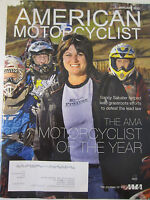 American Motorcyclist Magazine January 2012 The AMA Motorcyclist of the Year