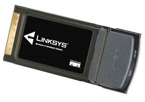 LINKSYS WPC600N Rangeplus 802.11N, G & B PCMCIA Adapter