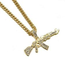 """Forever Chains - """"AK's for Day's K"""" Diamond Necklace"""