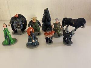 Disney's Brave Merida Figure Set Figurines x 9 figures