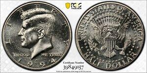 1994 P Kennedy Half Dollar PCGS MS63