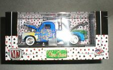 1/64th M2 Machines Wild Cards 1951 Studebaker 2R Tow Truck Blue w/Flames