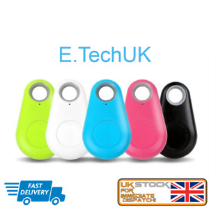Mini Bluetooth Anti-lost GPS Tracker Finder Device For Kids Pet Dog Cat Keys UK