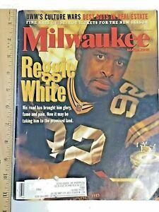 1996 September Milwaukee Magazine Reggie White On Cover Green Bay Packers