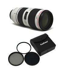 Canon EF 70-200mm f/2.8L IS III USM with Filter Kit 77mm UK NEXT DAY DEL
