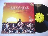 8185) LP - Time For Peace - Songs von Frieden und Freiheit - K-Tel -