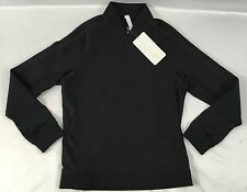 Lululemon Men's Tail Lite Half Zip Athletic Jacket Reflective Black Size M