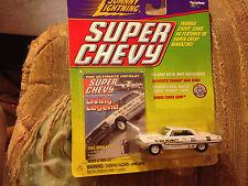 Johnny Lightning Chevy Impala Z-11 Old Reliable Ammon R. Smith Drag Car Mint!