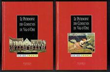 Le Patrimoine des Communes du Val d'Oise, Flohic, 2 tomes, Ile de France