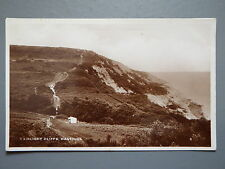 R&L Postcard: Fairlight Cliffs Hastings, Excel Real Photo