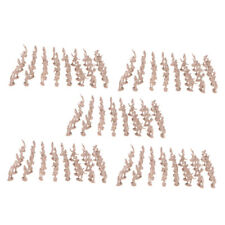 Pack of 500pcs 2cm Toy Soldier Figures Army Men Accessory Playset Apricot