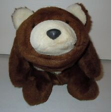 Brown Bear with White Nose, Chest and Inside of Ears