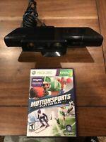 Xbox 360 Kinect w/ Close-Range adapter + 'Motion Sports' Bundle!