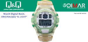 Vintage Watch Q&Q The Light. 9903, Wr 5m. Lap Memory 10. (M105 009)