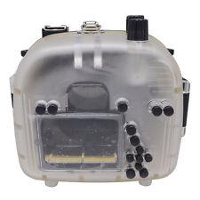 Mcoplus 40m/130ft Underwater Waterproof Housing Case for Canon EOS 600D 55mm Len