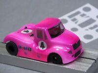 HO Slot Car Parts - HCS Int'l Race Truck .010 Lexan Body Kit Lot of 2 - MASK Kit