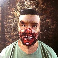 3d SE pudrieron ZOMBIE 3 efecto piel cara de Lycra Máscara Halloween