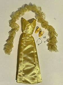 Complete Outfit Christie Superstar Reproduction Barbie Jewelry Dress Shoes Boa