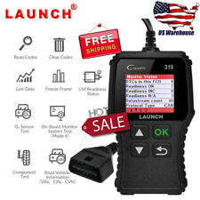 LAUNCH CR319 OBD2 Scanner Diagnostic Tool OBD LIVE DATA Freeze Frame Code Reader