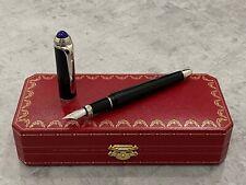Cartier Roadster Fountain Pen, Diabolo, Santos, Vendome, Louis Cartier
