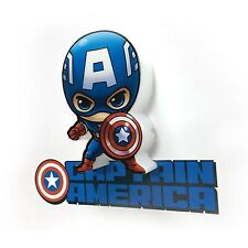 Marvel Avengers mini Captain America LED Night Light Deco Wall Kids Toy  New