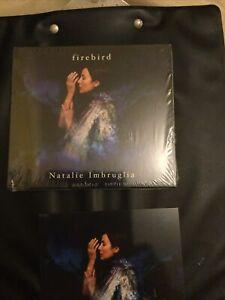 Natalie Imbruglia - Firebird Cd & Signed Art Card - Includes Lyrics In Booklet