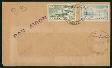 Mayfairstamps Lebanon 1950s Airmail Cover wwo90273