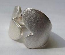 Designer Ring Modernist 925 Silver Vintage 80er ring silver