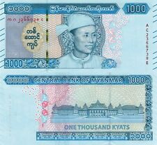 Myanmar 1000 Kyat (ND/2020) - Aung San Sui Kyi/Government Buildings/pNew UNC
