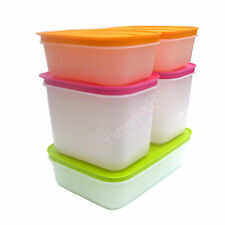 NEW Tupperware Freezer Keeper 5 pce Set Keepers Antarctica Medium Small Low Deep