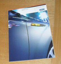 Ford Mondeo Brochure 2008 Titanium X Sport Ghia Zetec - 2.3 2.5 1.8 2.0 2.2 TDCI