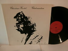 "christian knobel""chakrawakam""lp12""or.ger.no wave:rp10177 de 1982.rare"