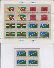 Solomon Islands United Flag Series Complete Stamp Sheet