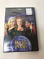 Disney's Hocus Pocus (DVD 2018) Bette Midler-Sarah Jessica Parker-New/Sealed