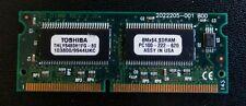 Toshiba THLY6480H1FG-80 64MB PC100 144 pin Memory, Presario