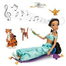"Disney Princess Jasmine's Deluxe 11"" Singing Doll Set NIB"