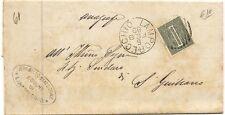 P8466   Pistoia, Lamporecchio, annullo numerale a sbarre, 1889
