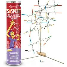 Melissa & Doug 31 Piece Balance Suspend Family Game, with Die, For Ages 8+ Years