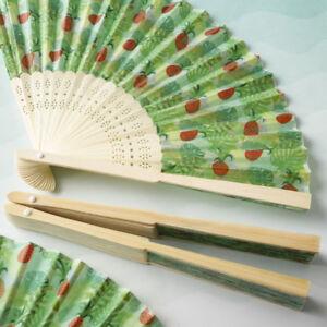 50-240 Pineapple Design Fan - Tropical Wedding Party Favor