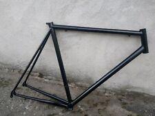 """vintage telaio frame corsa road italian NOS 55 x 55 28"""" NOS steel acciaio black"""