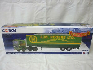 Corgi Modern Truck Haulage CC15504 Volvo F10 Tilt Trailer E.M Rogers