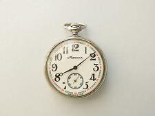 Pocket Watch 18 Jewels Cal.3602 Vintage Molnija Molnia Ship Russian