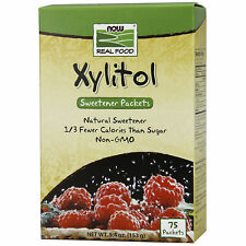 Xylitol 75 Packs | Low Calorie 100% Natural Sugar Replacement Stevia Alternative