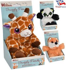 Wheat Heat Pack Animal Print Microwavable Bag Pain Relief Fox Girrafe Panda